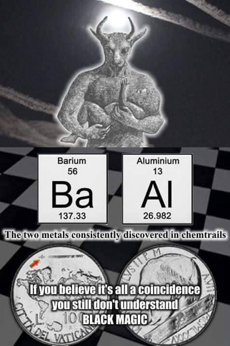 Ba Al chemtrails