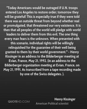 kissinger quote